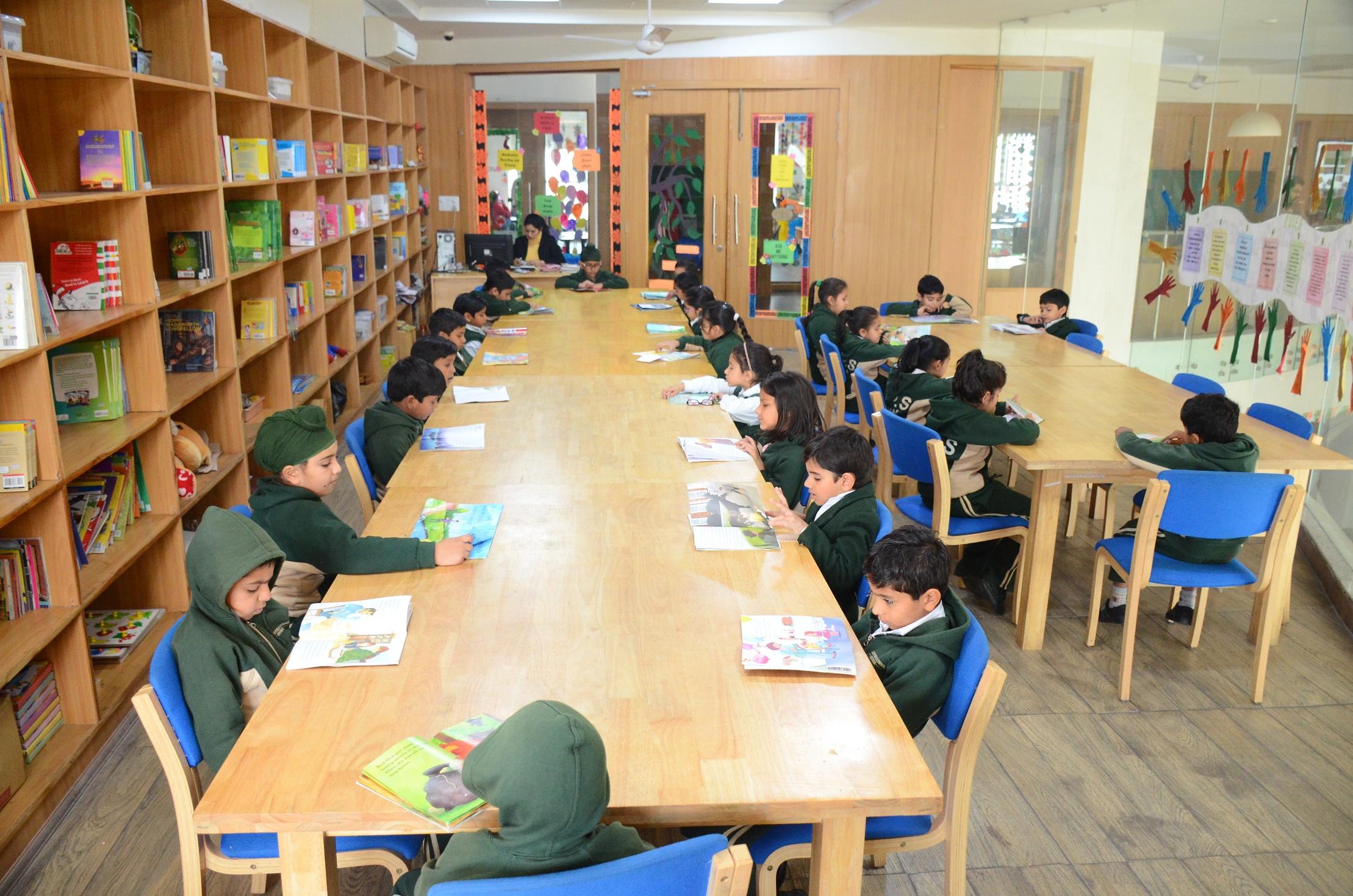 School Library DPS Abohar